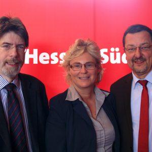 Gernot Grumbach, Christine Lambrecht, Michael Siebel